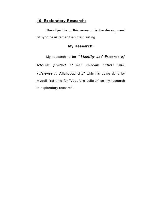 31735605 summer-training-project-of-vodafone