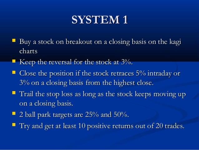 Kagi trading system