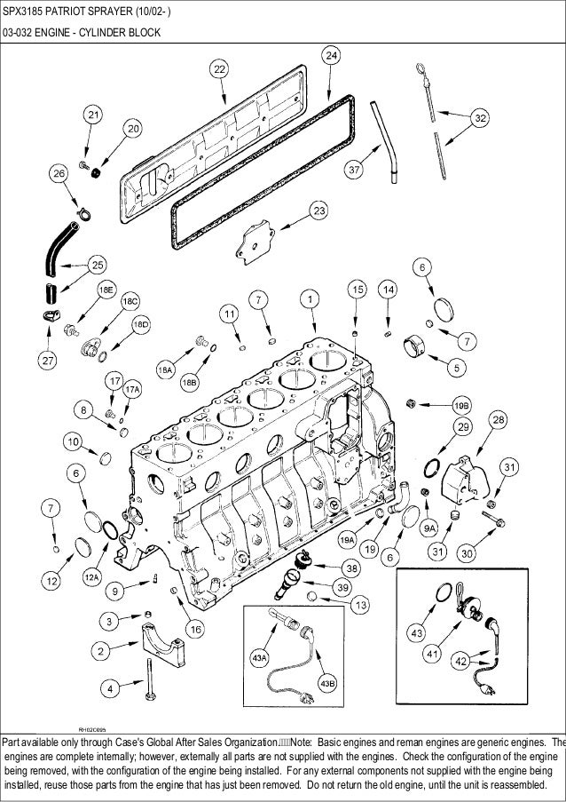Case Spx 3185 Patriot Sprayer Parts Catalog