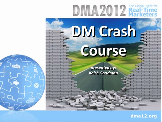 DM CrashSed ut perspi undomnis       Course    oiste Natus aei         presented by:        Keith Goodman