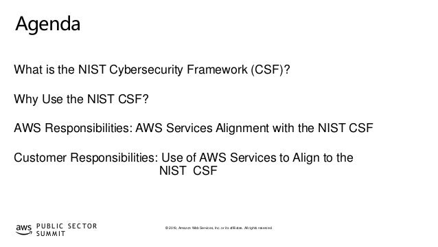 © 2019, Amazon Web Services, Inc. or its affiliates. All rights reserved.P U B L I C S E C TO R S U M M I T Agenda What is...
