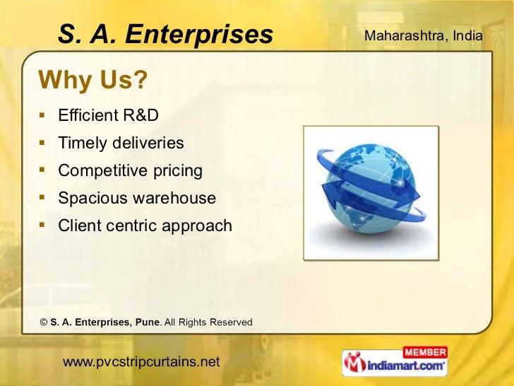 Why Us? <ul><li>Efficient R&D </li></ul><ul><li>Timely deliveries </li></ul><ul><li>Competitive pricing </li></ul><ul><li>...