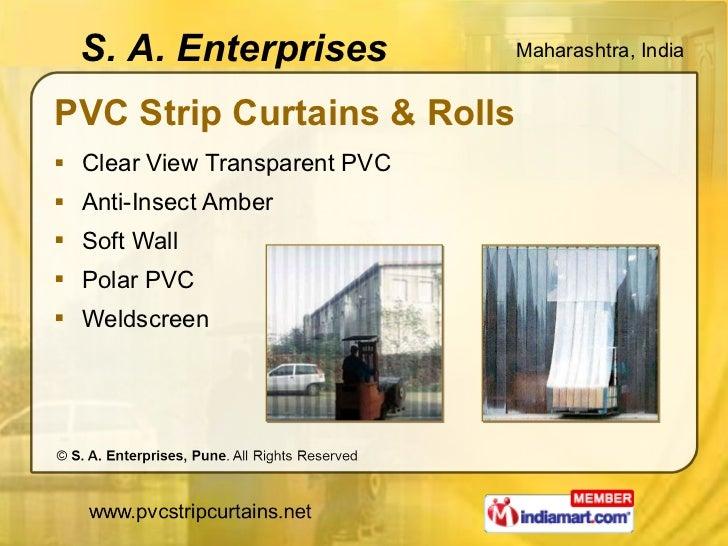 PVC Strip Curtains & Rolls <ul><li>Clear View Transparent PVC </li></ul><ul><li>Anti-Insect Amber </li></ul><ul><li>Soft W...