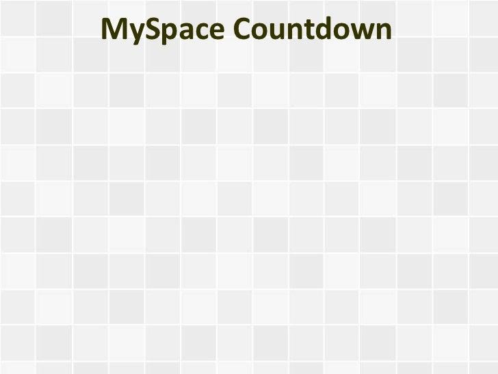 MySpace Countdown