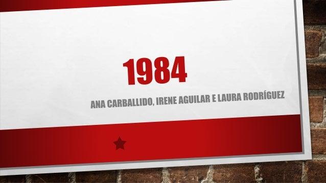 INTRODUCIÓN • GEORGE ORWELL (1947-48) • IRMÁN GRANDE • HABITACIÓN 101 • POLICÍA DO PENSAR • NEOLINGUA • SOCIEDADE ORWELLIA...