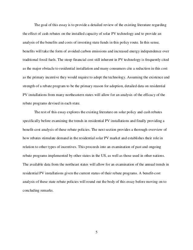 field essay 5