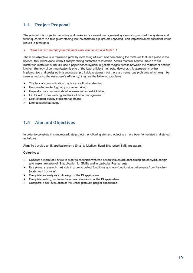 Itx3999 Restaurant Management System Disseration Compressed 1 Ilo