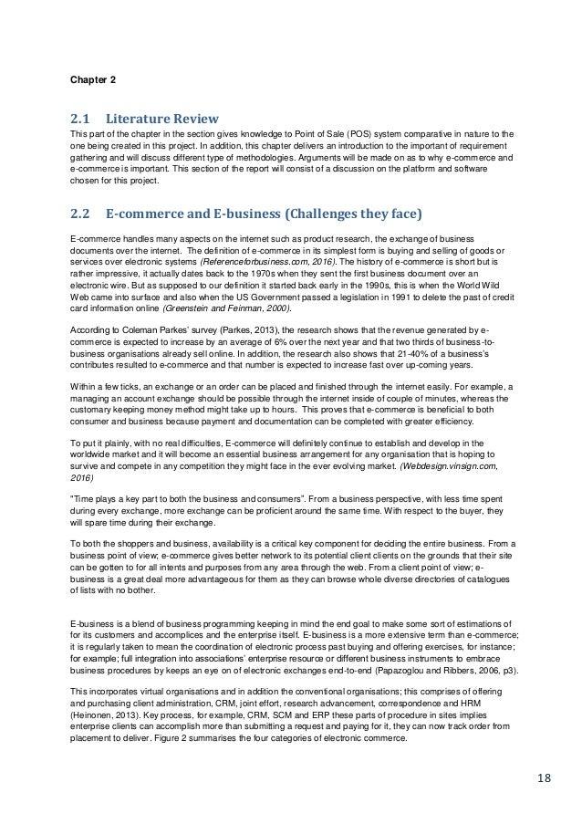 literature review on restaurant management system