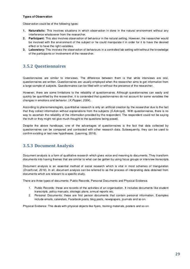 ITX3999 - Restaurant Management System Disseration