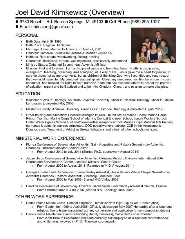Linkedin Resume 2016
