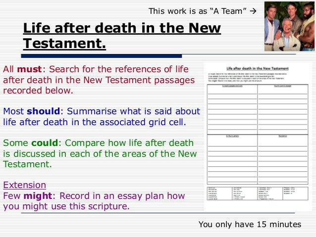 powerpoint christian life after death life