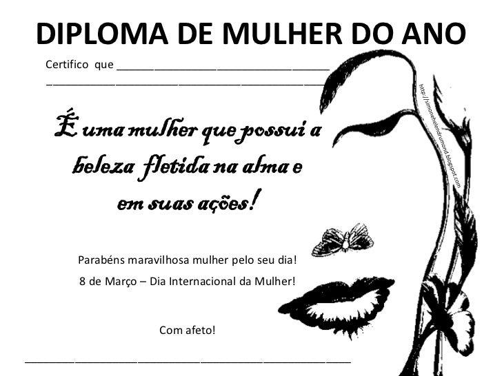 31 Diplomas Para O Dia Das Mulheres De Simone Hdi