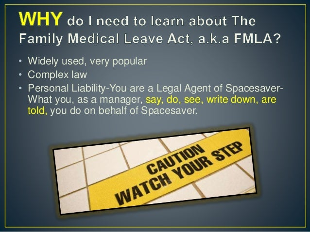 the family and medical leave act essay The family and medical leave act (fmla) was signed into law in 1993 in response to a growing national concern about balancing work and family responsibilities.