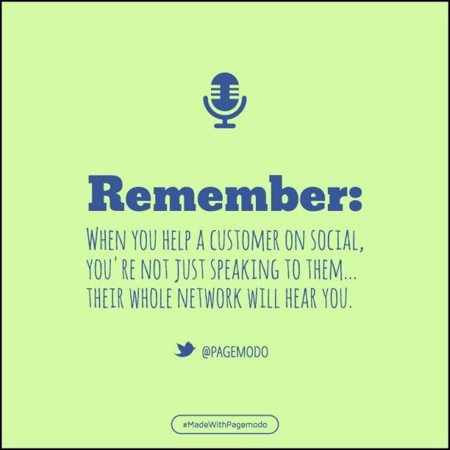 $  Remember:   WHEN YOU HEEP A EUSEOMER ON SOEIAE,  YOU' HE NOE JOSE SPEAKING EO EHEM. .. EHEEH WHOLE NEEWOHK WEEE HEAR YO...