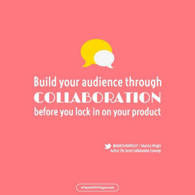 Build your audience h gh  before you lock in on your product      @MARSHAWRIGHT/ Marsha Wrigilt Author iile5eaei(o/ /aboml...