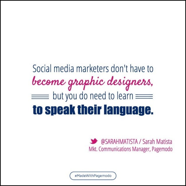"""Social media marketers don't have to  u'3C3<'/ ,& (C~t. I2c, '.L't'>, .""""r, ;;{'/  Cum i; (C-L.  'L3./ E/.3, I I  E but you..."""