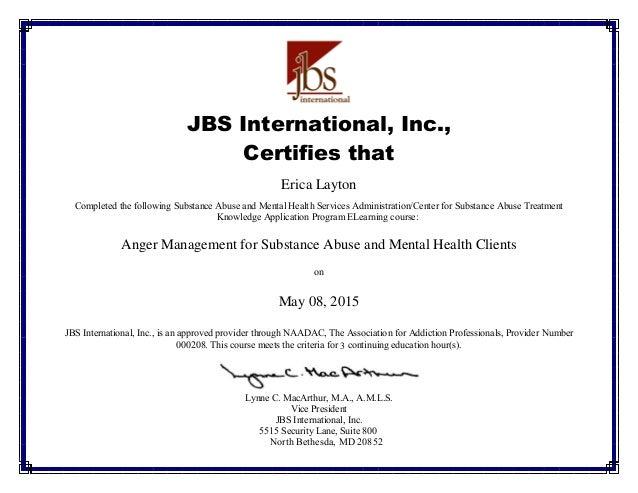 dentrodabiblia: anger management completion certificate