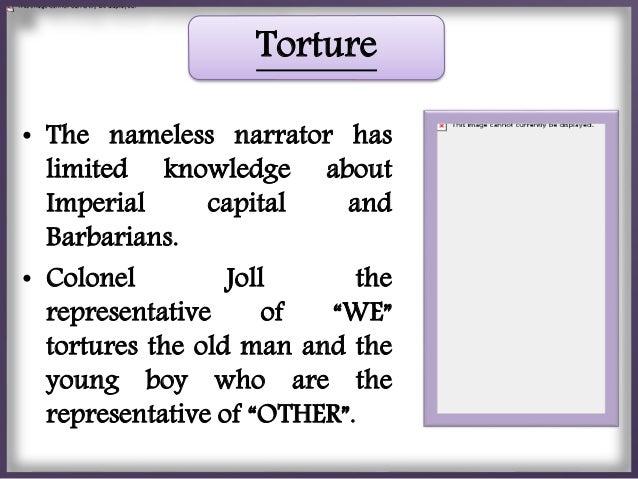 Borders narrator and boy