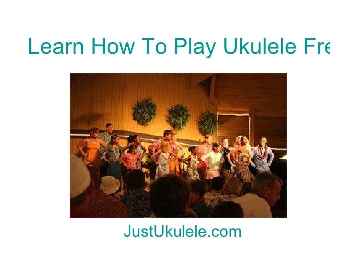 Tenor Ukulele Chords Tutorial