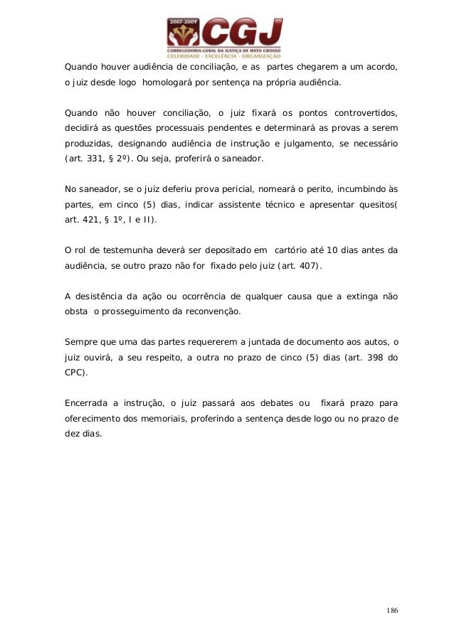 AÇÕES CÍVEIS - FLUXOGRAMA