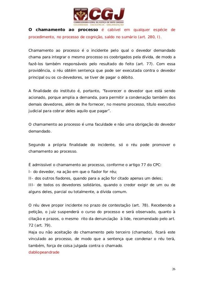 27 09 - CONFLITO DE COMPETÊNCIA ( art. 115/122) Provocação: ofício do juiz ou petição da parte ou do MP, com os documentos...