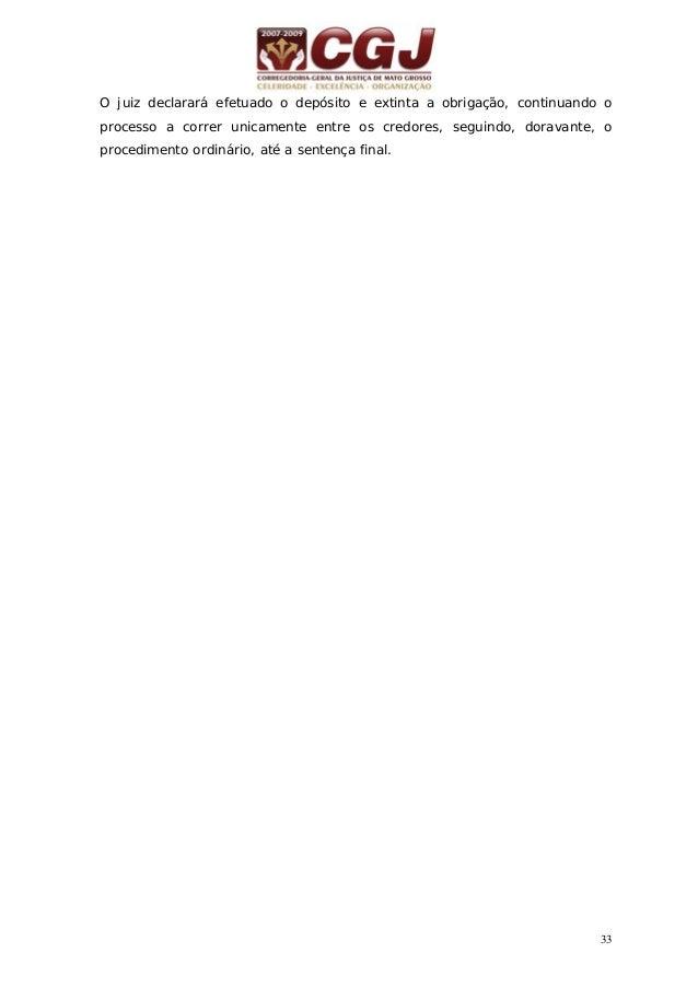 34 12 - DEMARCAÇÃO (Art. 950/966) Sem contestação – art. 955 e 330, II do CPC Contestação - art. 955 Vistas às partes no p...
