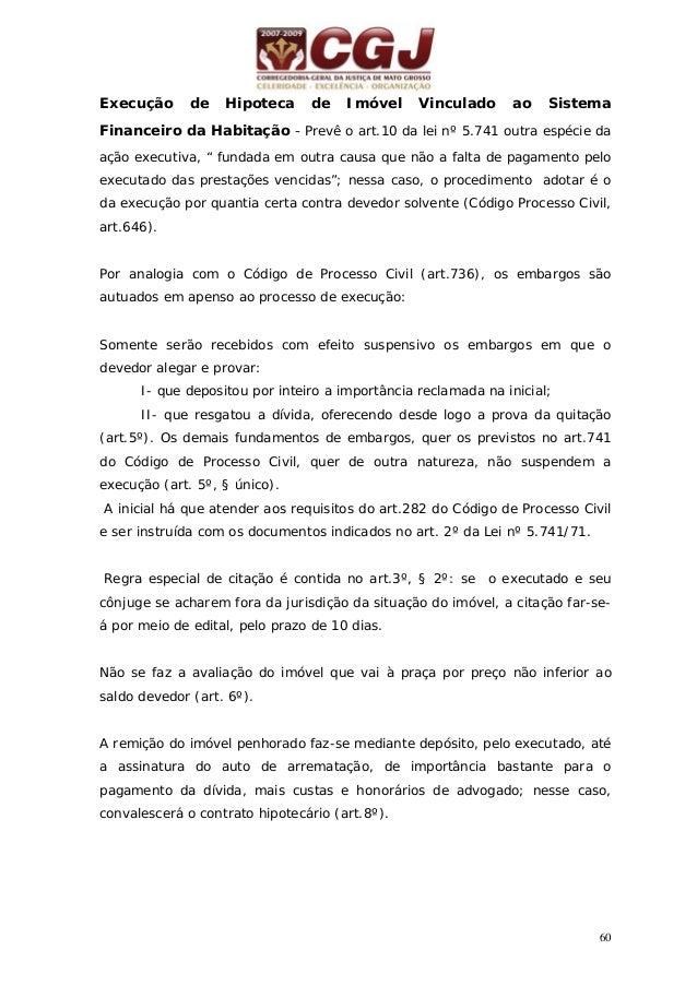 61 21 - EXECUÇÃO PARA ENTREGA DE COISA INCERTA COM BASE EM TÍTULO EXTRAJUDICIAL (arts. 629-631 do CPC) 48 horas Pedido do ...