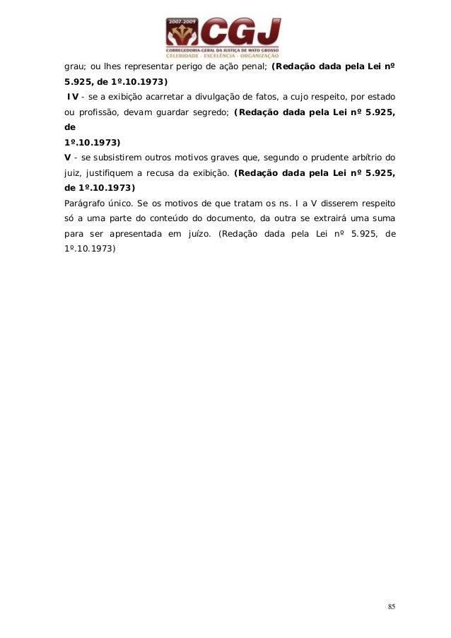 86 30 - RECUPERAÇÃO JUDICIAL E EXTRAJUDICIAL (LEI 11.101 de 9/02/2005) Processamento deferido – Art. 52 Nomeação do Admini...