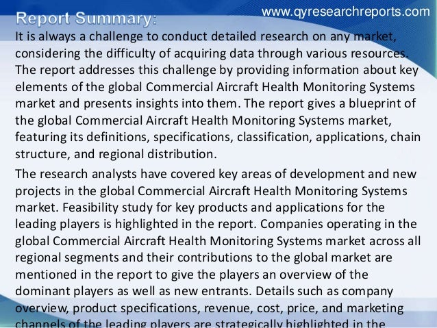It is always a challenge to conduct detailed research on any market, considering the difficulty of acquiring data through ...