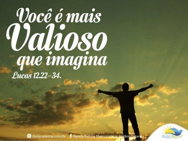 Sua vida tem muito valor, por isso... 1. JESUS QUER ALIVIAR-LHE A TENSÃO CAUSADA PELAS PREOCUPAÇÕES.