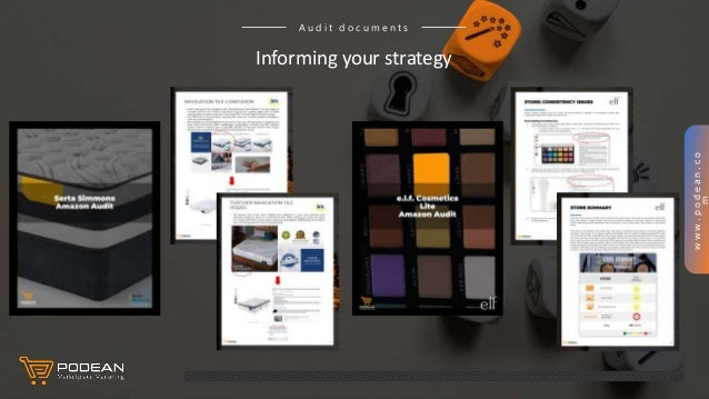 www.podean.co m Informing your strategy A u d i t d o c u m e n t s