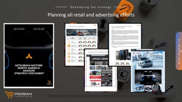 www.podean.co m Planning all retail and advertising efforts D e v e l o p i n g t h e s t r a t e g y