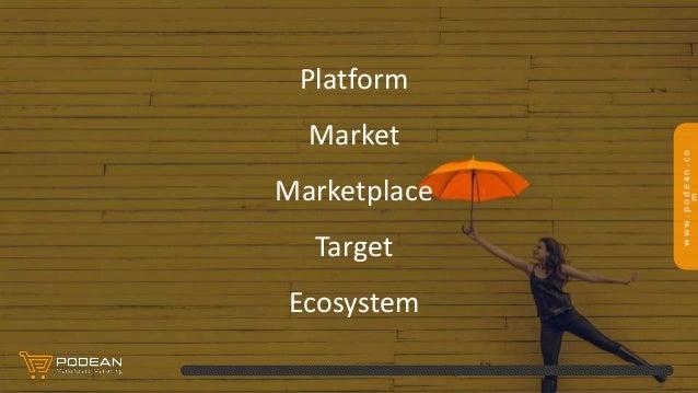www.podean.co m Platform Market Marketplace Target Ecosystem