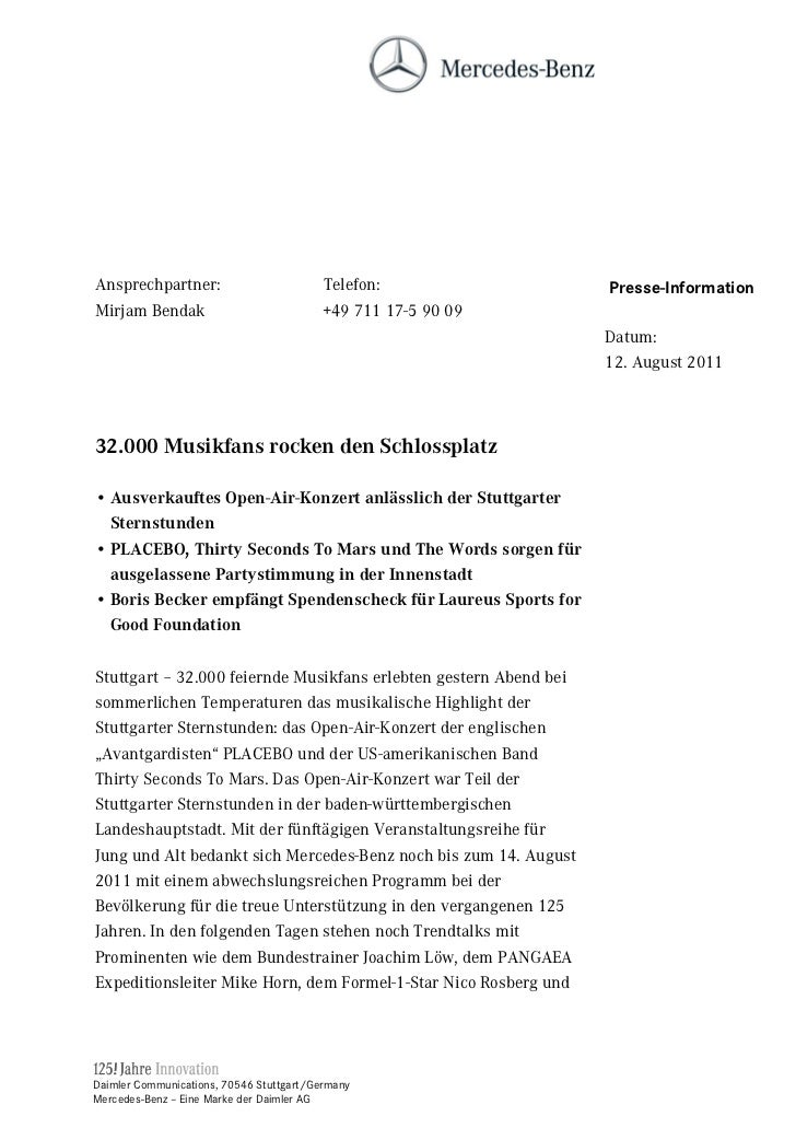 Ansprechpartner:                         Telefon:                  Presse-InformationMirjam Bendak                        ...