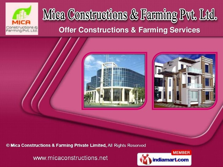 Offer Constructions & Farming Services