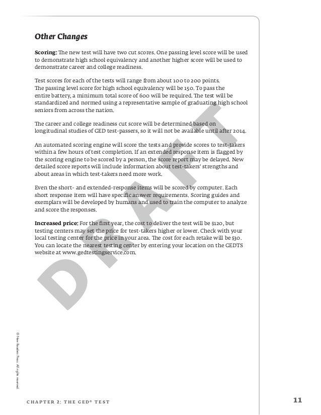 2014 GED® Test Prep: The Essay Pt.1