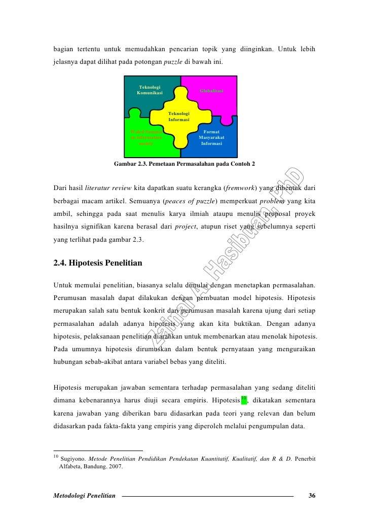 Metodologi Penelitian Pada Bidang Ilmu Komputer Dan Teknologi Informa