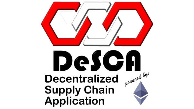 Technology Management Image: Decentralized Supply Chain