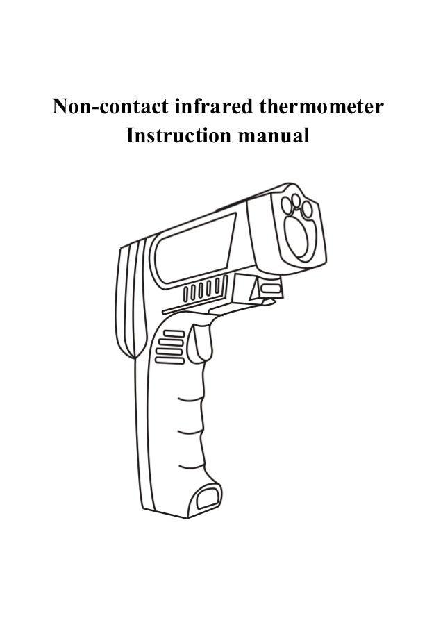 Termometro IR con guia laser 320 manual