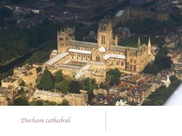 Romanesque Style Durham Cathedral