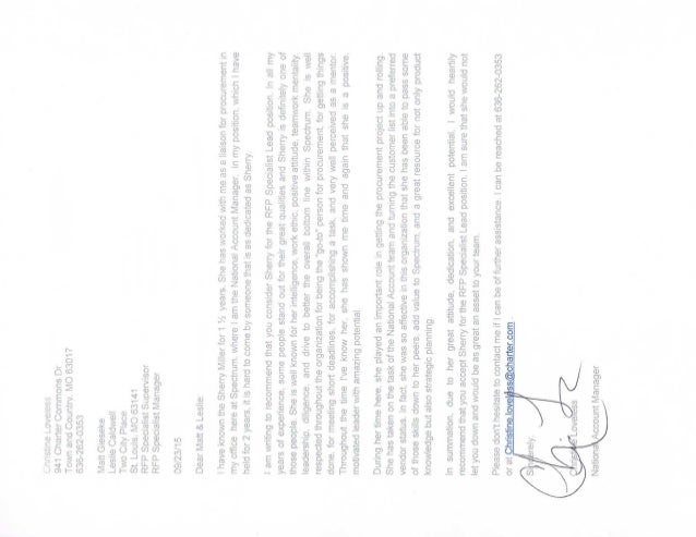 Christine Letter