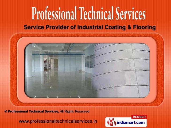 Service Provider of Industrial Coating & Flooring