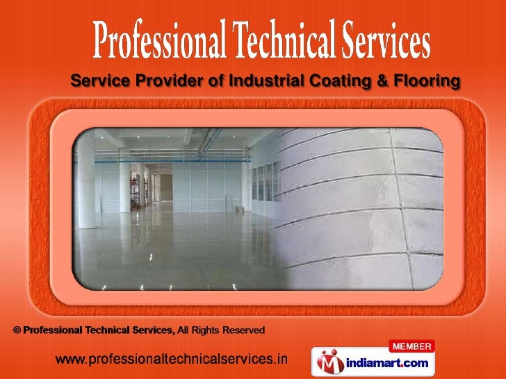 Service Provider of Industrial Coating & Flooring