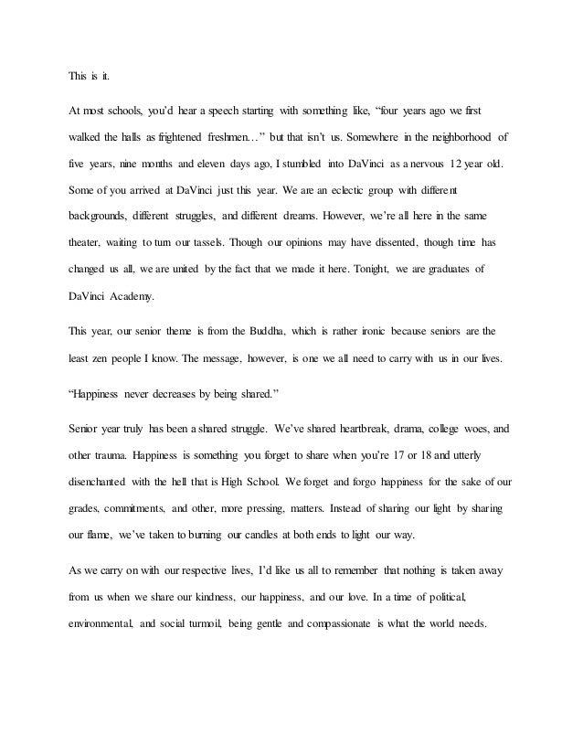 Speech draft