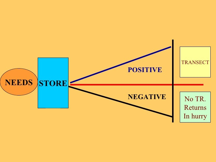 NEEDS STORE POSITIVE NEGATIVE TRANSECT No TR. Returns In hurry