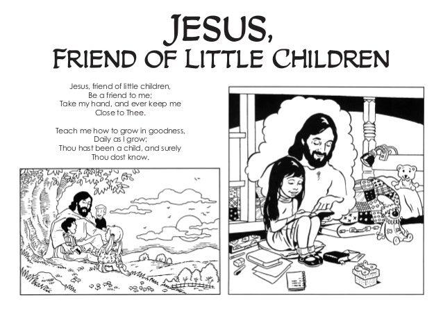 Jesus, friend of little children- coloring book