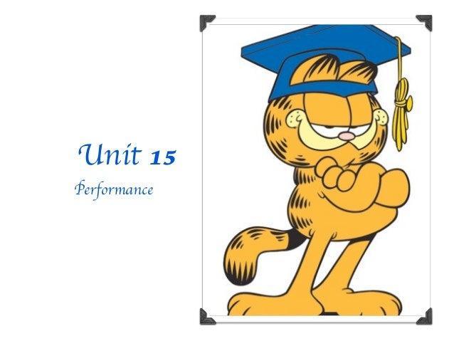 Unit 15Performance