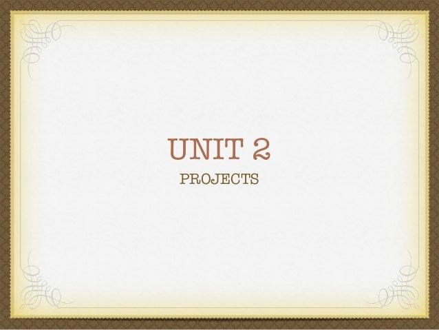 321 unit 2 project