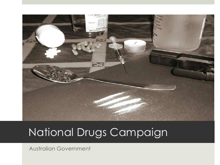 The national drugs campaign media essay