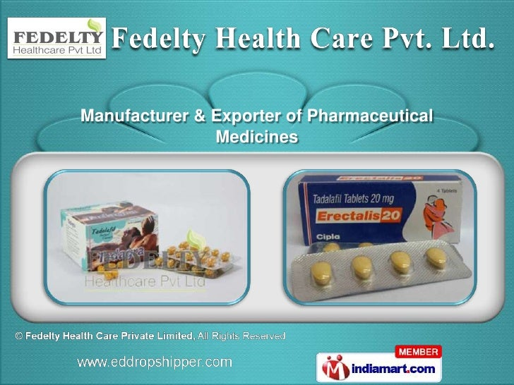 Manufacturer & Exporter of Pharmaceutical               Medicines